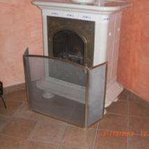 Grille de protection pour cheminée