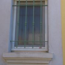 Grille fenêtre en rond